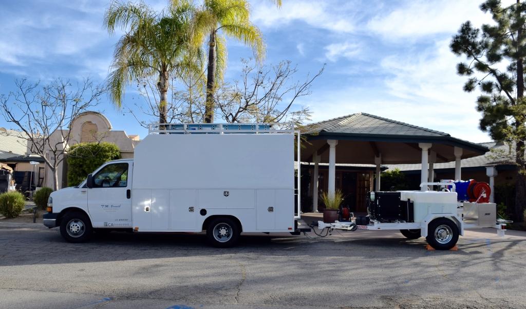 Our Truck 2 TM Bennett plumbing